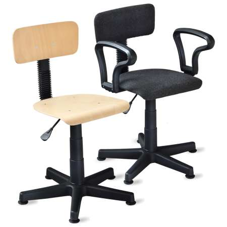Krzesła obrotowe do sal informatycznych