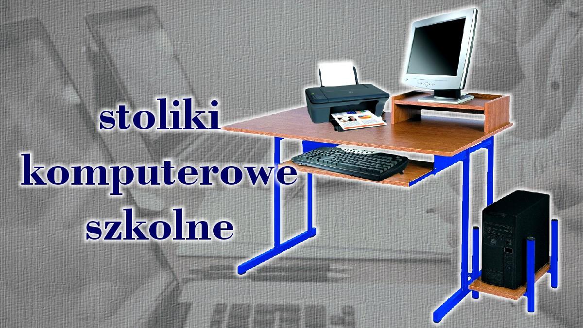 Biurka Komputerowe Stoły Młodzieżowe Na Laptopy Komputery